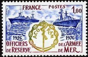 Cinquantenaire de l'association centrale des officiers de réserve de l'armée de mer