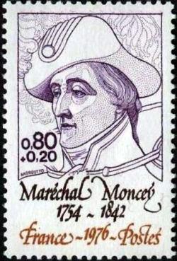 Maréchal Moncey (1754-1842)  maréchal d'Empire