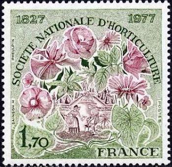 150ème anniversaire de la société nationale d'horticulture