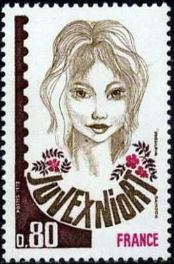 juvexniort timbres de france mis en 1978. Black Bedroom Furniture Sets. Home Design Ideas