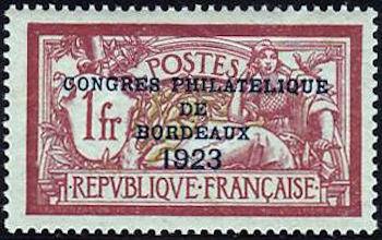 Congrès philatélique de Bordeaux