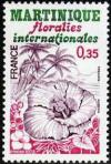 timbre N° 2035, Floralies internationales de la Martinique