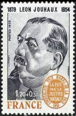 Léon Jouhaux (1879-1954) syndicaliste français