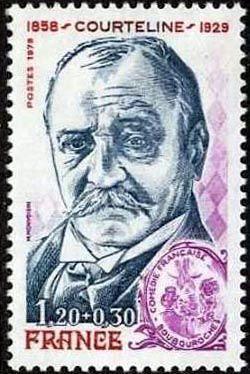 Georges Moinaux dit Courteline (1858-1929) romancier et dramaturge français