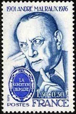 André Malraux (1901-1976) écrivain et intellectuel français