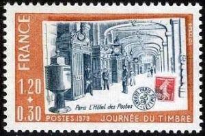 Journée du timbre - Hôtel des Postes de Paris