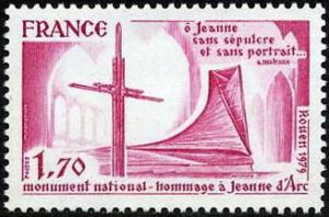 Hommage à Jeanne d'Arc monument national