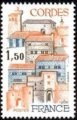 Bastide (1222) Cordes (Tarn)