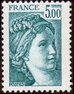 Sabine 5 F bleu