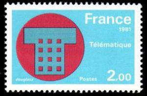 Télématique (poste à clavier)