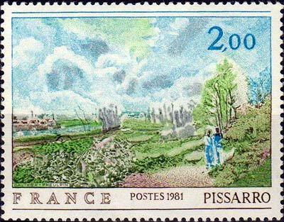 Camille Pissarro( 180-1903)  «La sente du chou»