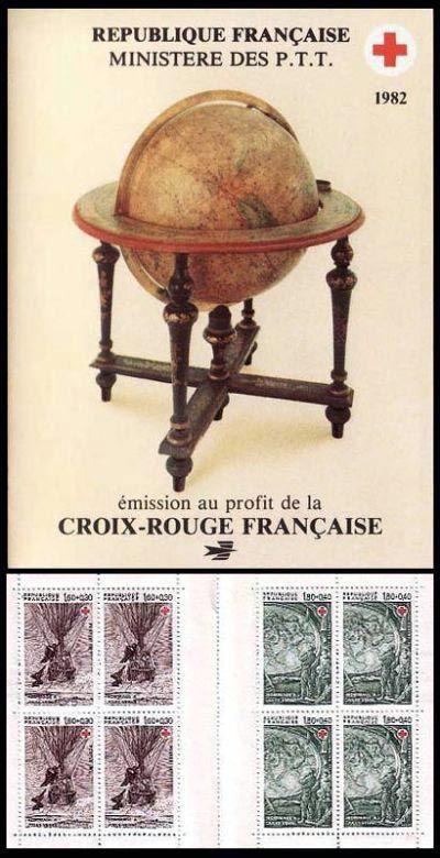 ... français Carnet croix rouge N° 2031 , de couleur x, émis en 1982