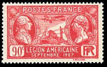 Visite de la légion Américaine