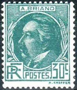 Aristide Briand (1862-1932) prix Nobel de la Paix en 1926