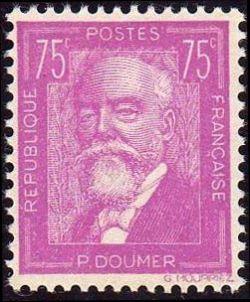 Paul Doumer (1857-1932) homme d'État français