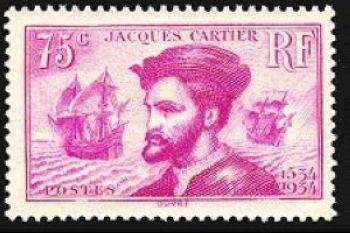 4em centenaire de l'arrivée de Jacques Cartier (1491-1557) au Canada