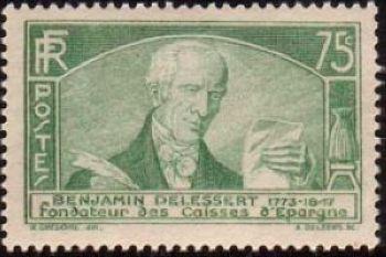 Benjamin Delessert (1773-1847) Fondateur des Caisses d'Epargne