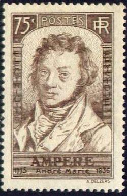 André-Marie Ampère (1775-1836) Mathématicien, physicien