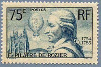François Pilatre de Rozier (1756-1785) première ascension en ballon libre