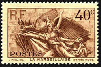 «La Marseillaise» de Claude Rouget de Lisle (1760-1836)