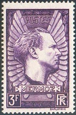 Jean Mermoz (1901-1936) aviateur français, figure légendaire de l'Aéropostale