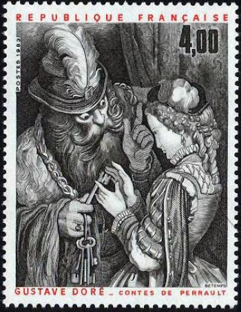 Illustration des contes de Perrault oeuvre de Gustave Doré