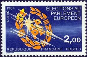 2ème élection au parlement Européen 17 juin 1984