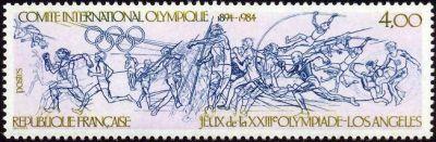 Jeux olympique d'été Los Angeles - Comité International Olympique 1894-1984