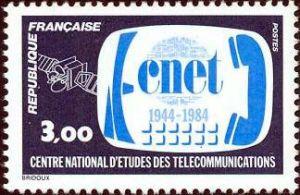 40ème anniversaire du centre national d'études des télécommunications (CNET)