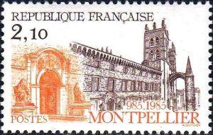 Millénaire de la fondation de Montpellier (985)
