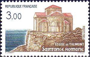 Saintonge Romane: l''Eglise et Talmont