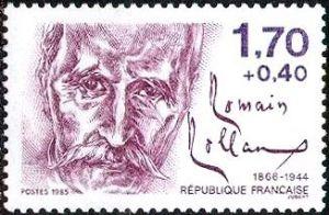Romain Rolland (1866-1944) ecrivain
