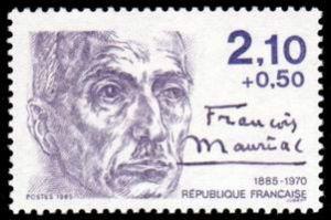 François Mauriac (1885-1970) écrivain