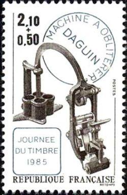 Machine à oblitérer Daguin - Journée du timbre