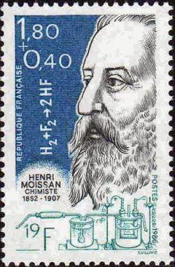 Henri Moissan (1852-1907) chimiste