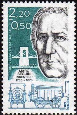 Marc Seguin  (1786-1875) ingénieur