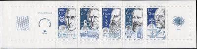 Bande format horizontal constituée des timbres N° 2396 à 2400