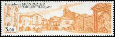 Bastide de Monpazier (Dordogne)