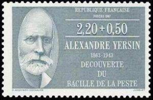 Alexandre Yersin (1863-1943) microbiologiste