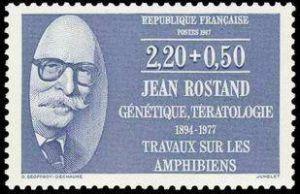 Jean Rostand (1894-1977) biologiste et écrivain