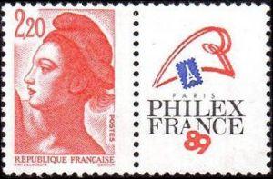 Philexfrance 89 - type Liberté