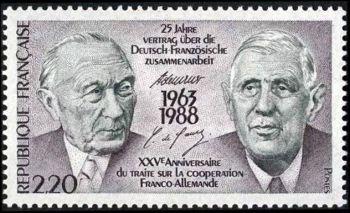 25ème anniversaire du traité sur la coopération franco-allemande