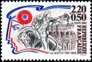 Personnages de la révolution française - La Fayette (1757-1834)