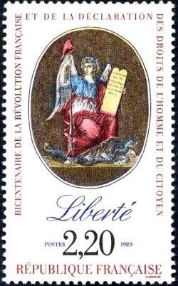 Bicentenaire de la révolution - Liberté