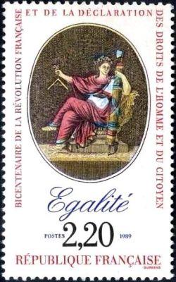 Bicentenaire de la révolution - Egalité