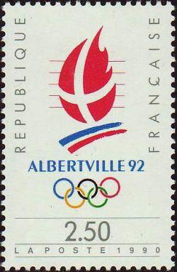 «Alberville 92» Jeux olympiques d'hiver 1992 à Alberville