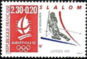 ''Alberville 92'' Jeux olympiques d''hiver 1992 à Alberville