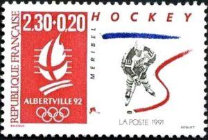 «Alberville 92» Jeux olympiques d'hiver 1992 à Alberville - Hockey - Méribel