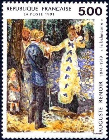 ''La balançoire'' d''Auguste Renoir