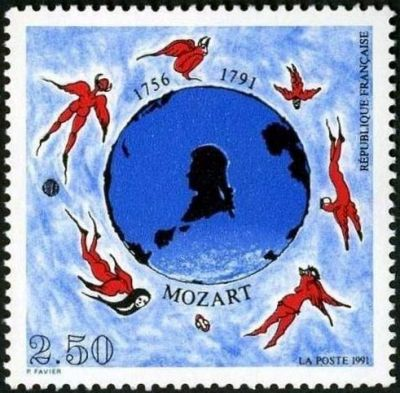 Bicentenaire de la mort de Mozart (1756-1791)